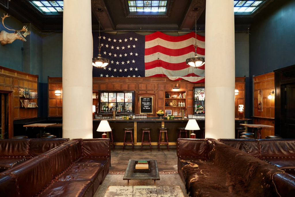 Coworking space at Ace Hotel New York City