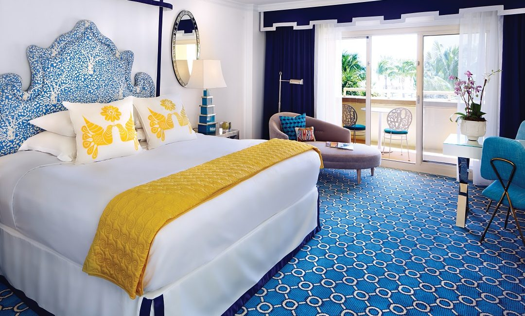 Guest Room King Bed_Jonathan Adler_Eau Palm Beach