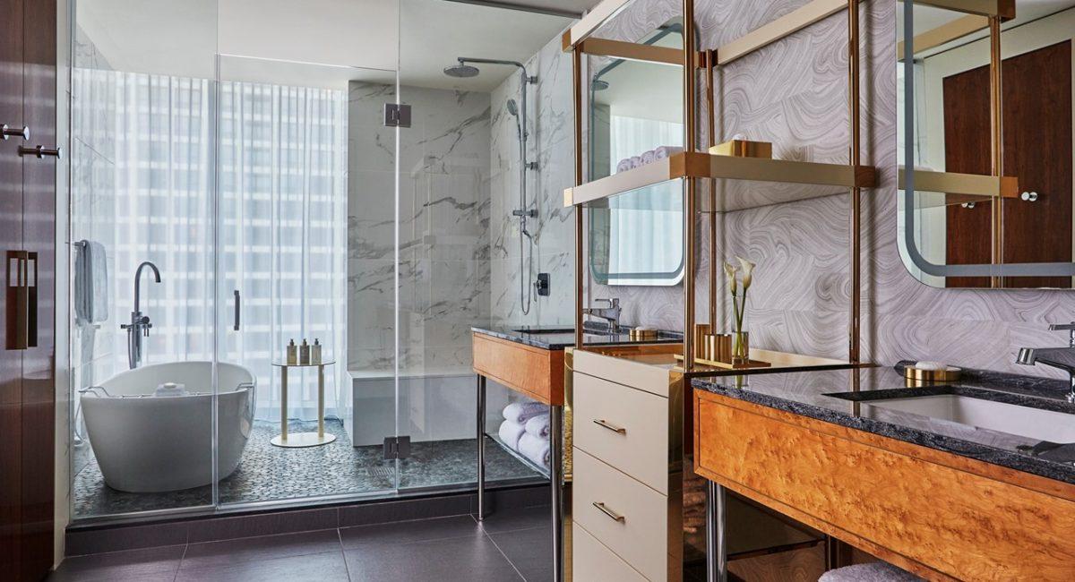 Viceroy Chicago suite bathroom