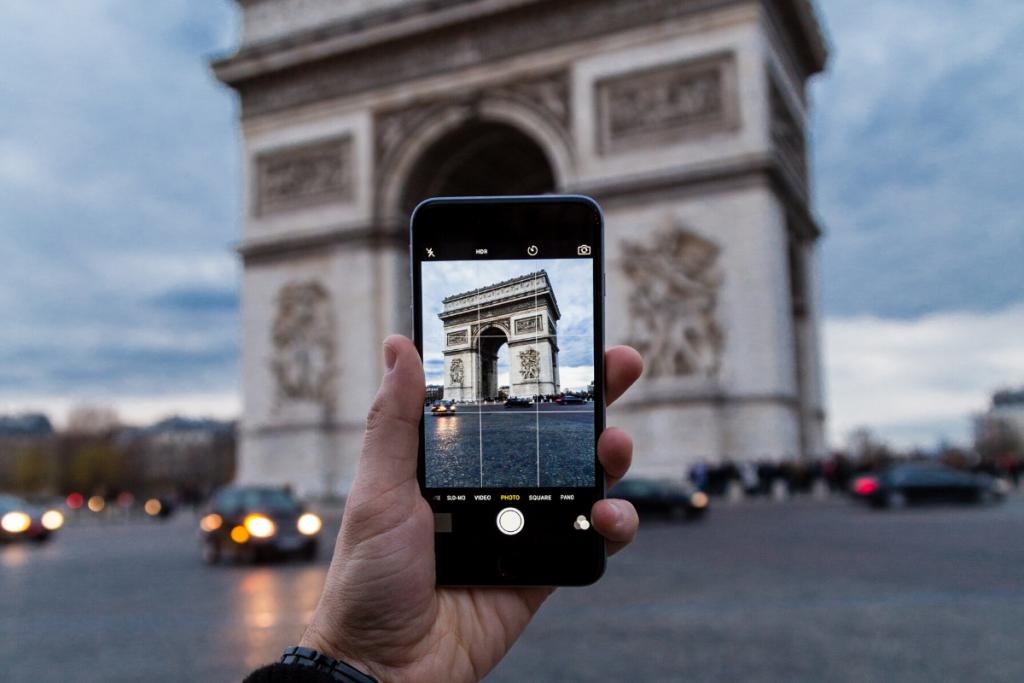 travel photography tips, camera phone