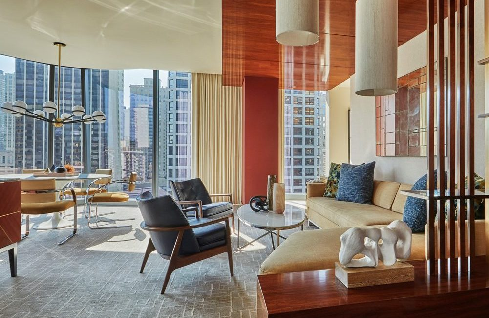 Viceroy Chicago suite