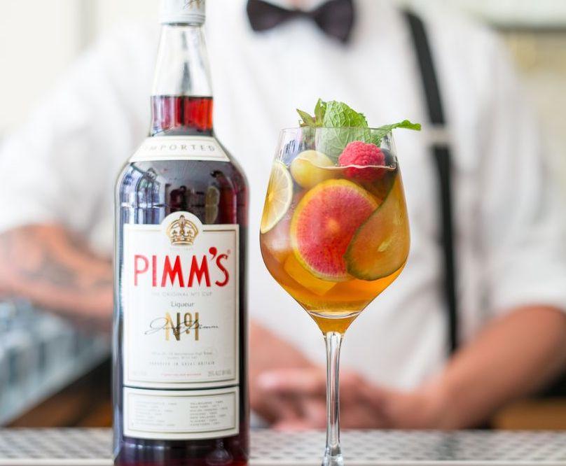 Pimm's Cup, international cocktails
