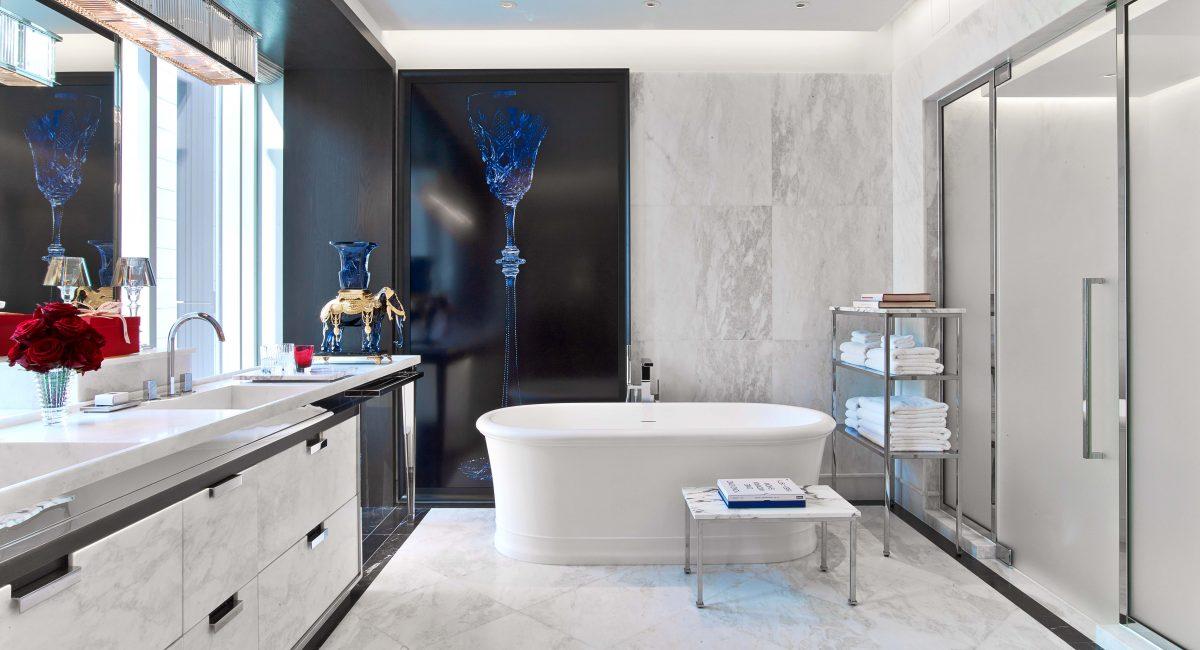 Baccarat Suite Bathroom