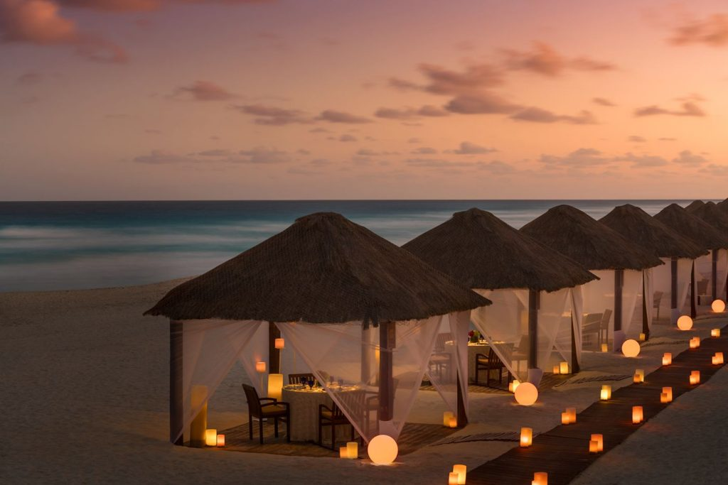 Playa Marlin, Cancun beaches, casitas The Ritz-Carlton, Cancun
