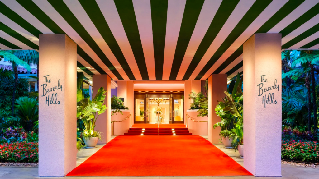 The Beverly Hills Hotel most romantic hotels in California