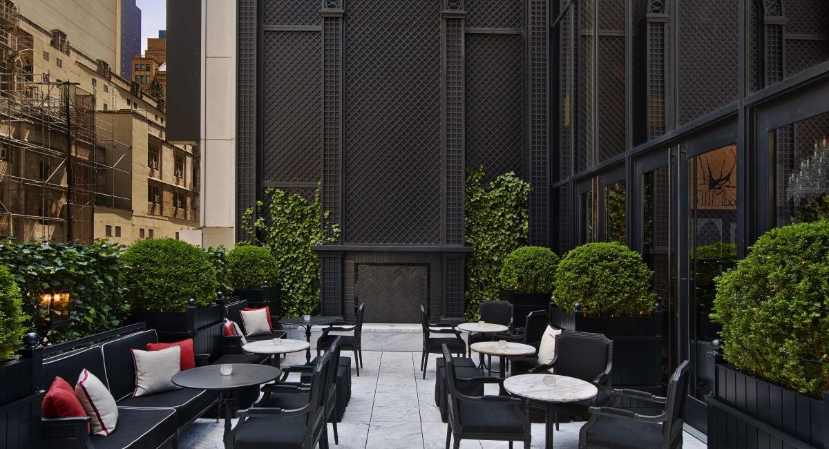 The Terrace Baccarat hotel