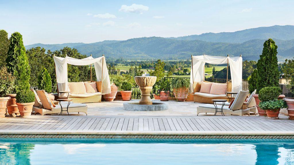 Auberge du Soleil, Napa Valley, most romantic hotels in california