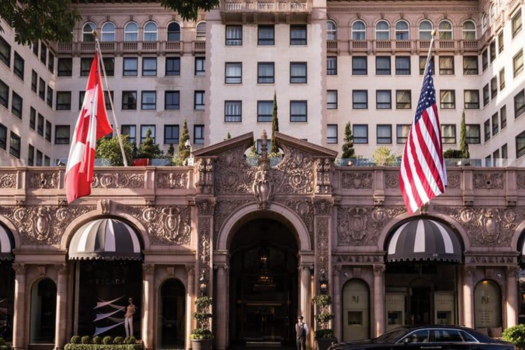 Beverly Wilshire Iconic Film Hotels