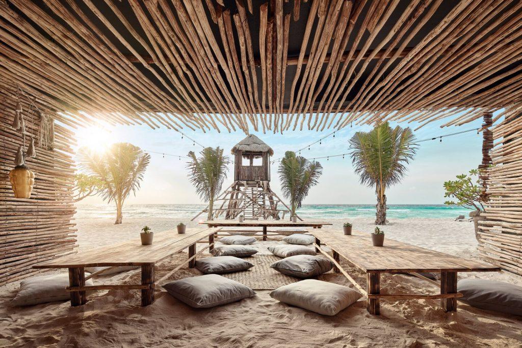 Sacbe Beach Shack Marriott Cancun Resort