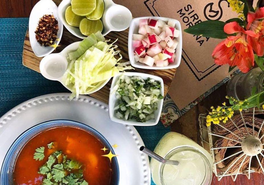 Sirena Morena flavors of Cancun