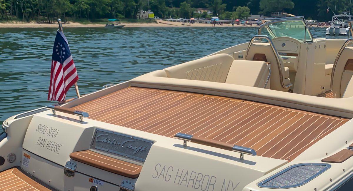 Shou Sugi Ban House Boat excursion