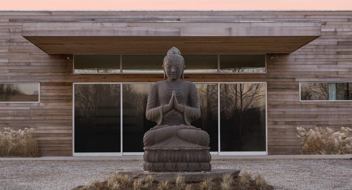 Shou Sugi Ban House entrance