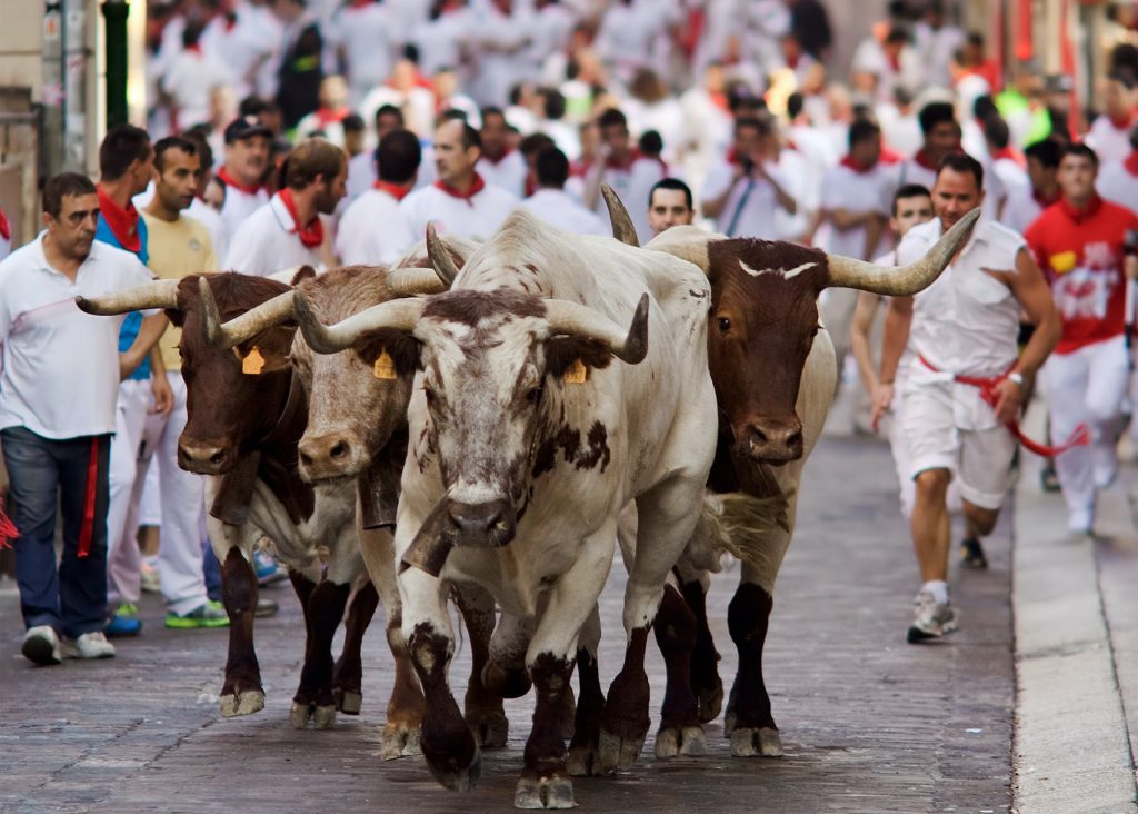 Festival de San Fermin, Pamplona festivals in spain