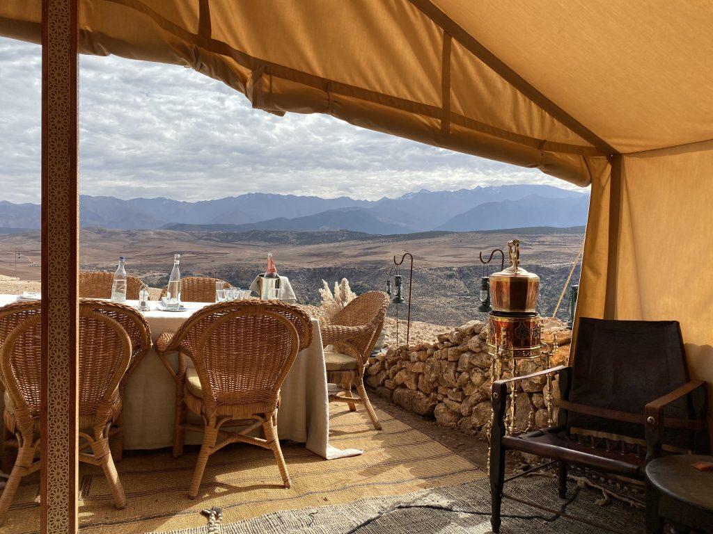 desert tea Marrakech Melanie Brandman