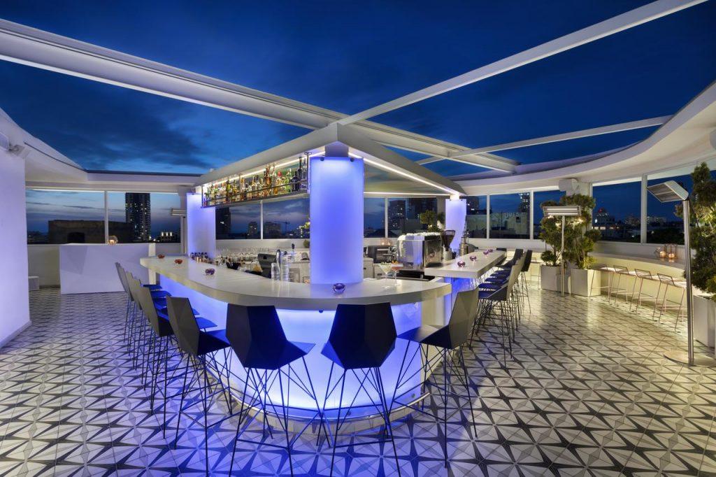 Best Rooftop Bars in Tel Aviv poli house hotel