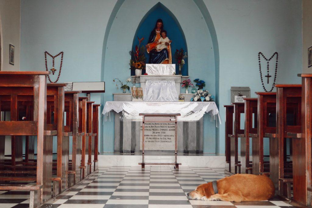 aruba travel guide alto vista chapel