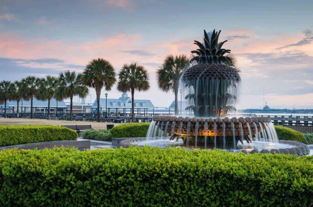 Weekend in Charleston joe riley waterfront park