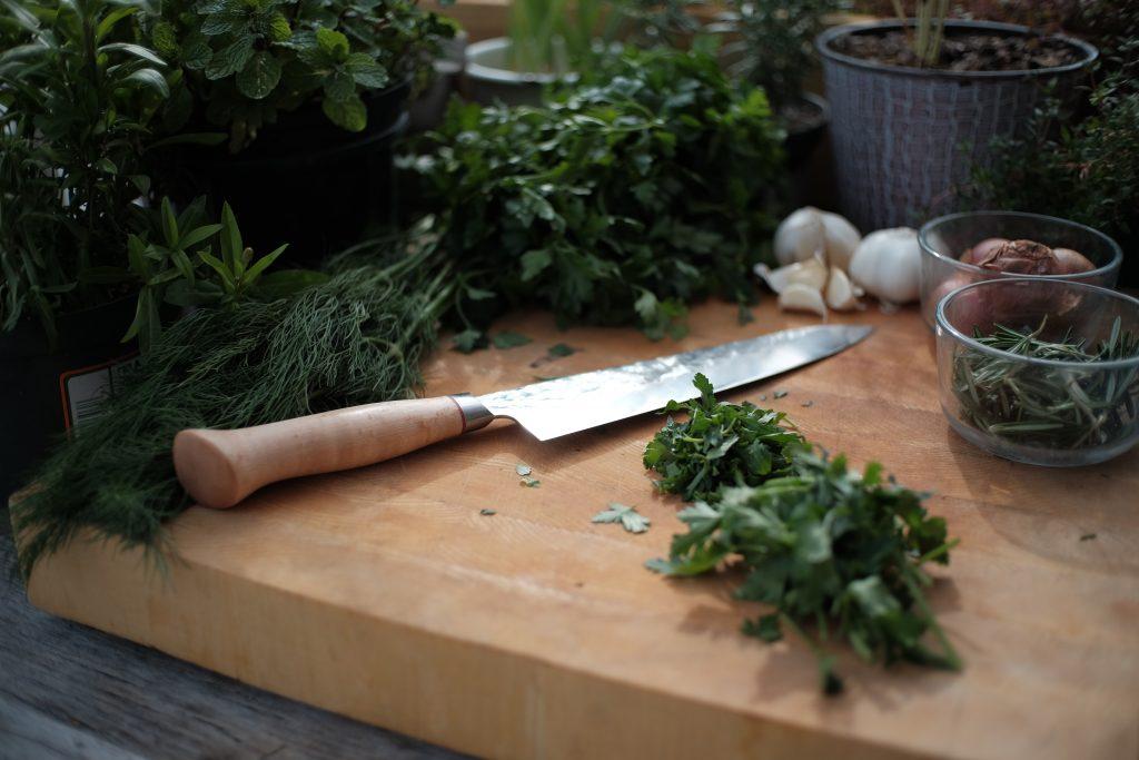 Growing Herbs cooking