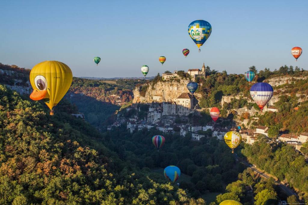 hot air balloon experiences in France