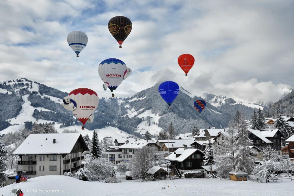 winter hot air balloon experiences