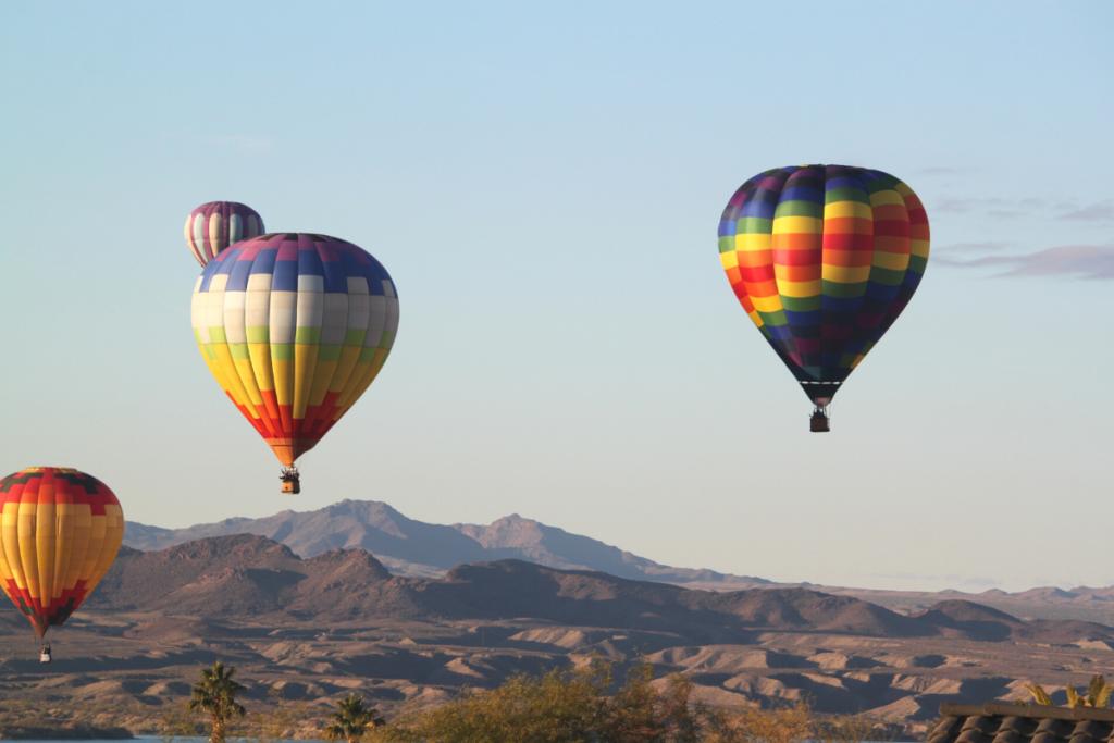 hot air balloon experiences in Arizona