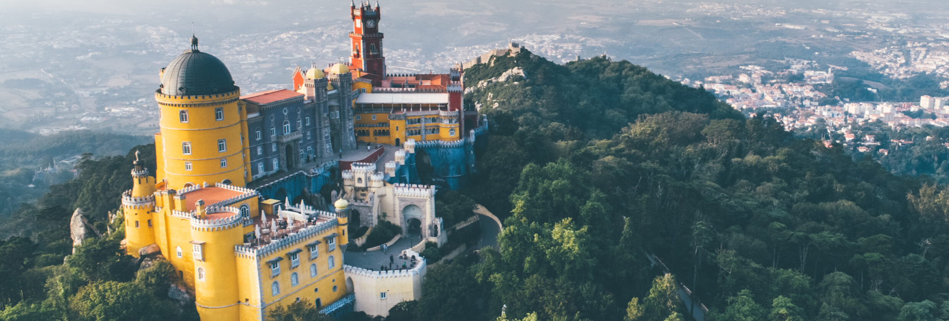 Pena Palace, one of the most unique castles in Europe